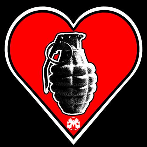 Image of Heart Attack 2.0 (Heart Grenade) shirt
