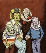 Image of 'Fortuna Family Portrait' Print