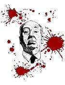 Image of 'HITCHCOCK (Bloody Variant)' Print