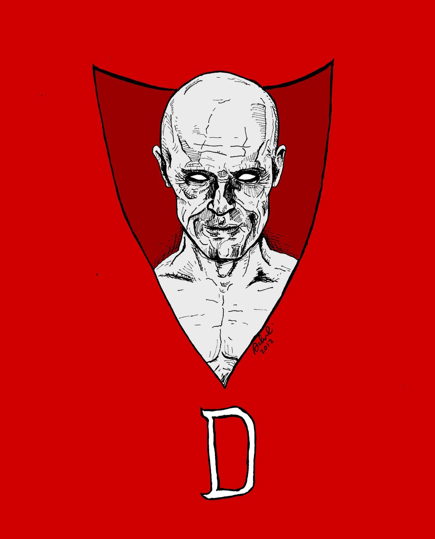 Image of 'Dafoe Deadman' Print