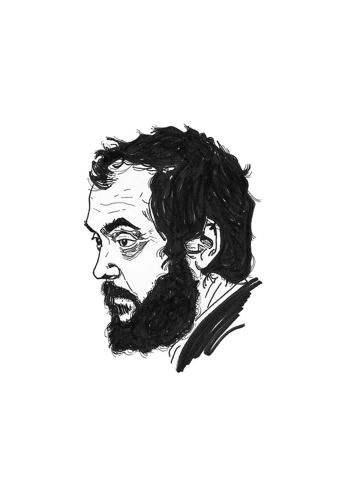 Image of 'Kubrick' Print