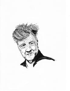 Image of 'David Lynch' Print