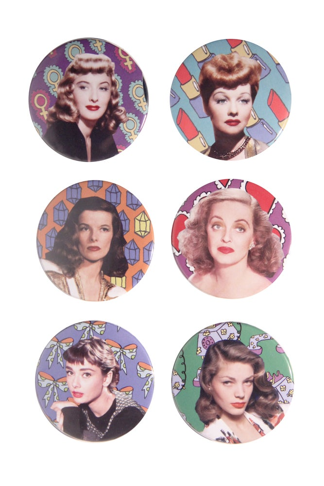 Image of FILM ICONS BUTTONS