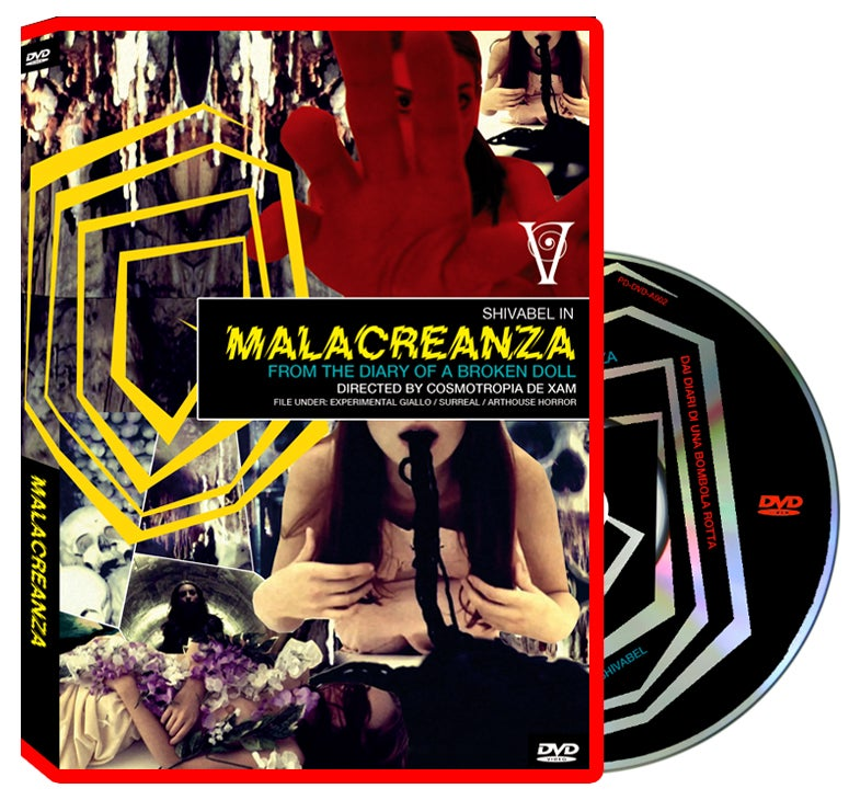 Image of PD-DVD-A002: MALACREANZA (Amaray retail edition)
