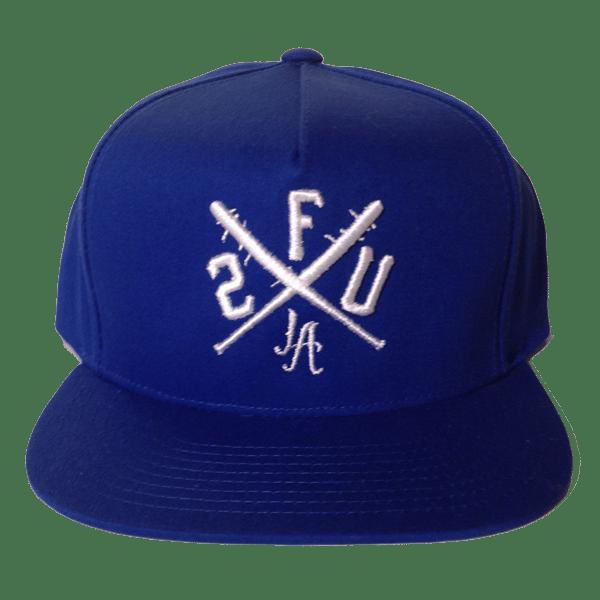 Image of 2fukdup! x Dodgers Snapbacks