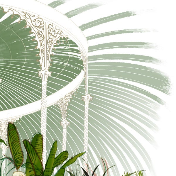 Image of Eve in the Kibble Palace