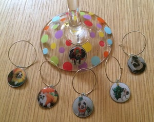"""Image of Wine Charms """"Costume Collection""""- SALE 50% OFF!!"""