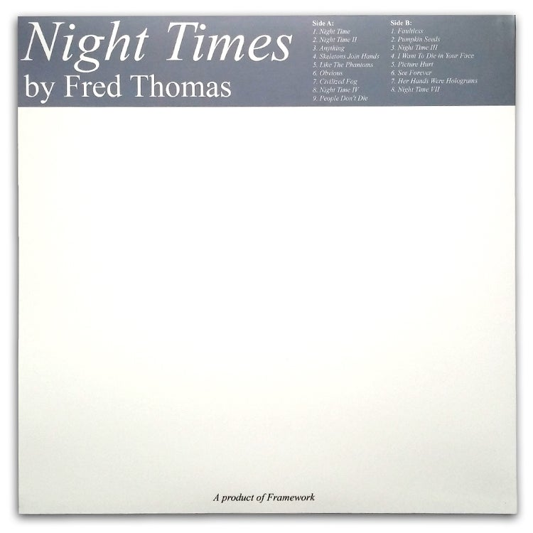 Image of Fred Thomas - Night Times LP