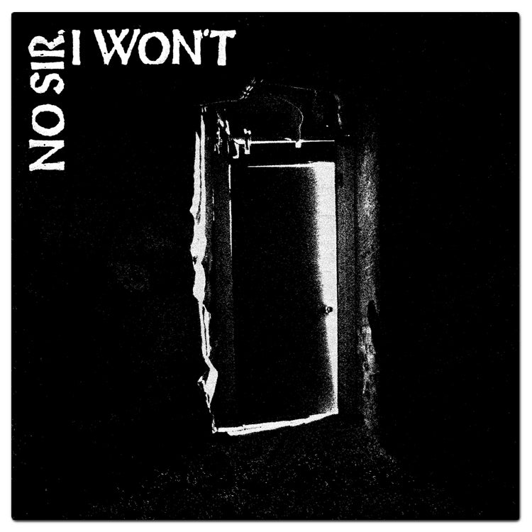 "Image of No Sir, I Won't - The Door 12"" EP"