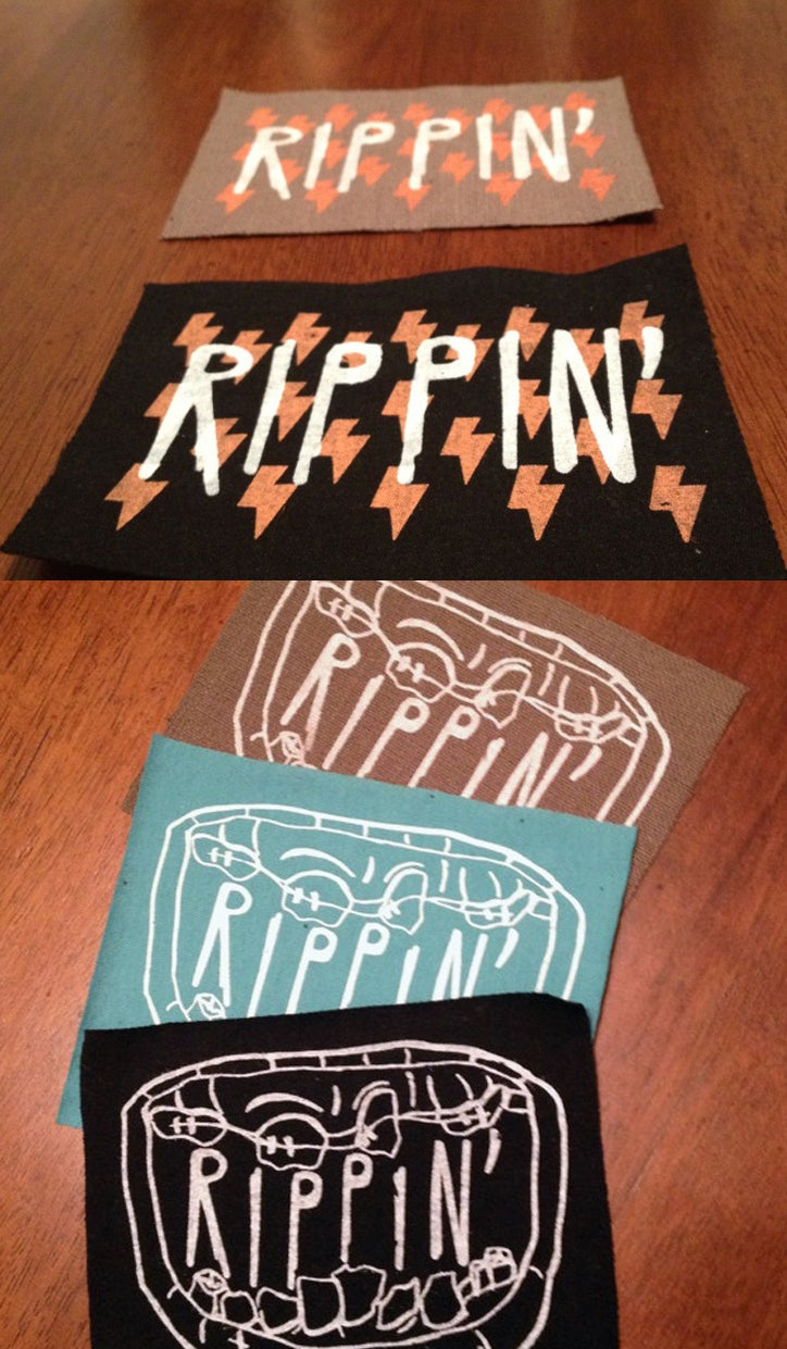 Sew-on RIPPIN' Patches