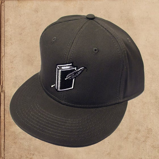 Image of Miles to go Logo Snapback - Charcoal - limited to 6
