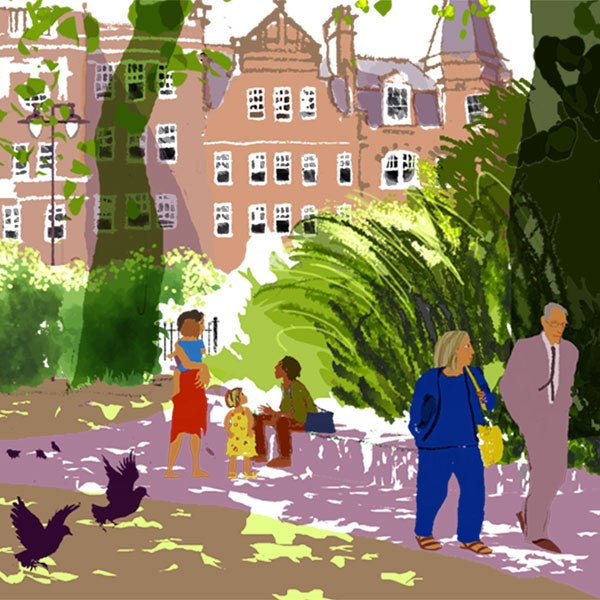 Image of Newington Green, Summer
