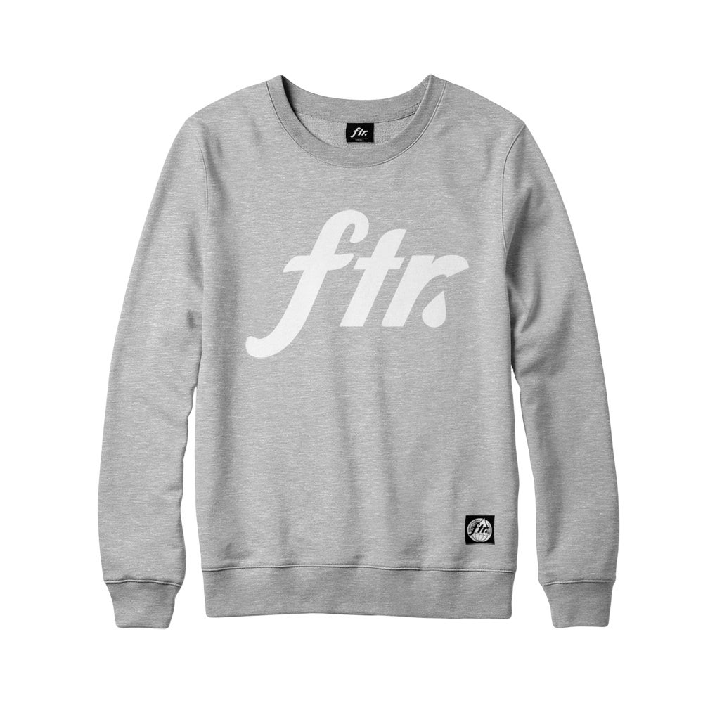 Image of FTR Crewneck (Grey)