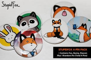 Image of StupidFox Pin Packet