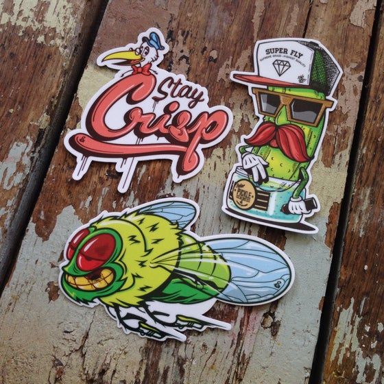 Image of Stay Crisp Sticker Pack