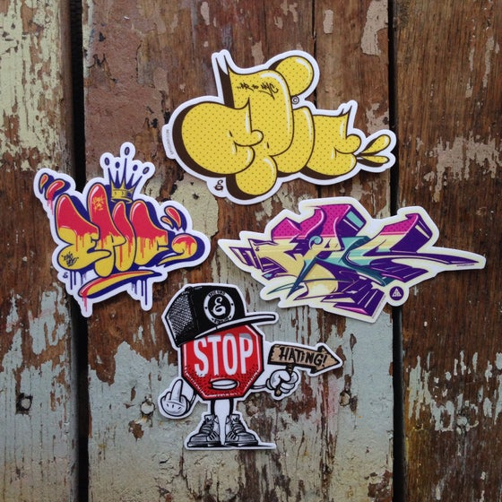 Image of Graffiti Sticker Pack