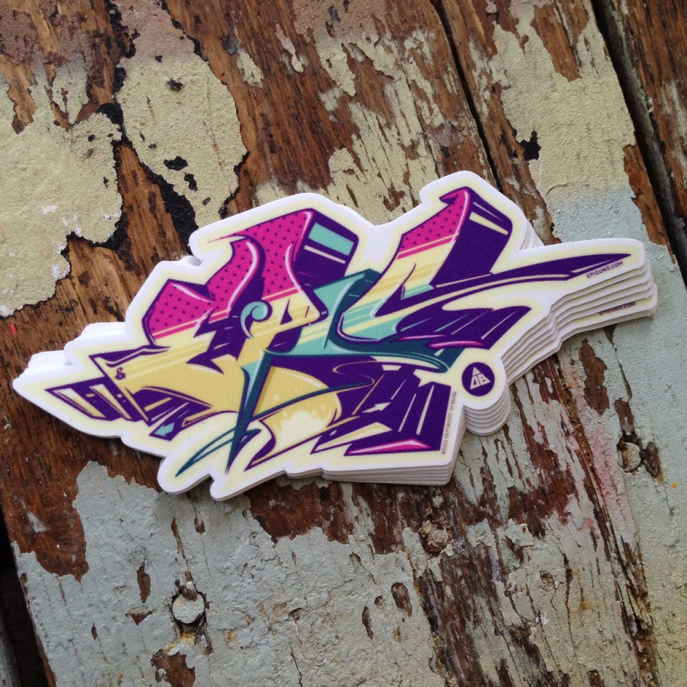 Image of Graffiti Sticker Pack