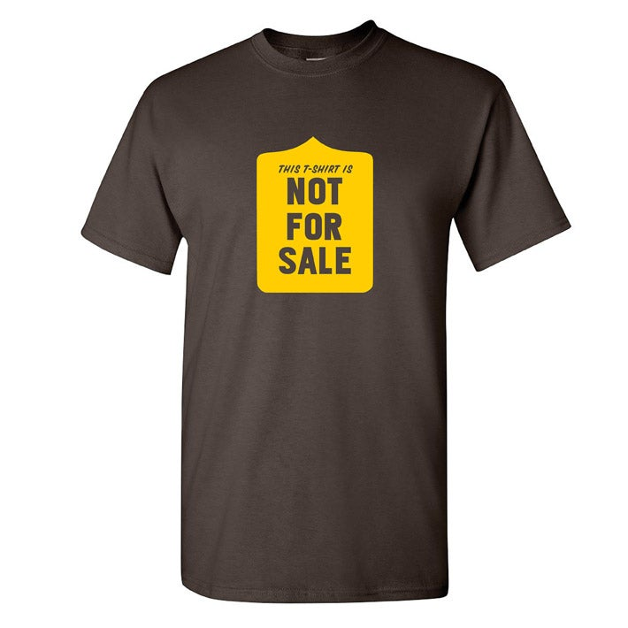 Image of This t-shirt is not for sale - mens