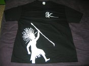 Image of White Rasta - Black Shirt