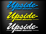 Image of Upside Flagship Sticker - 3pk
