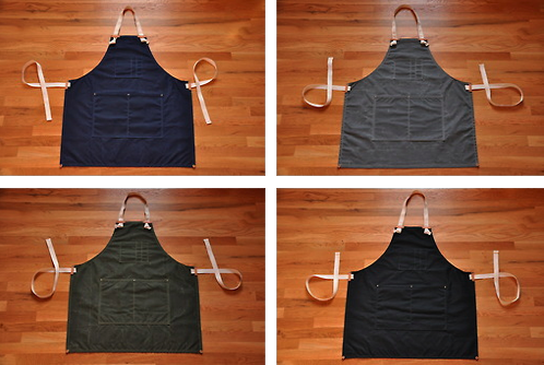 Image of Apron - Waxed Canvas or Denim