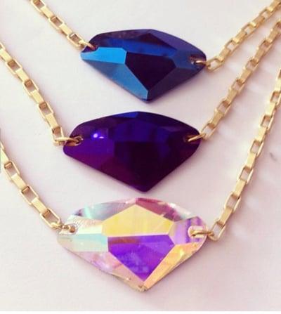 Image of Diamond Aurora Choker