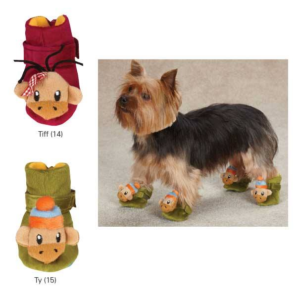 Image of  Monkey Business Dog Slippers