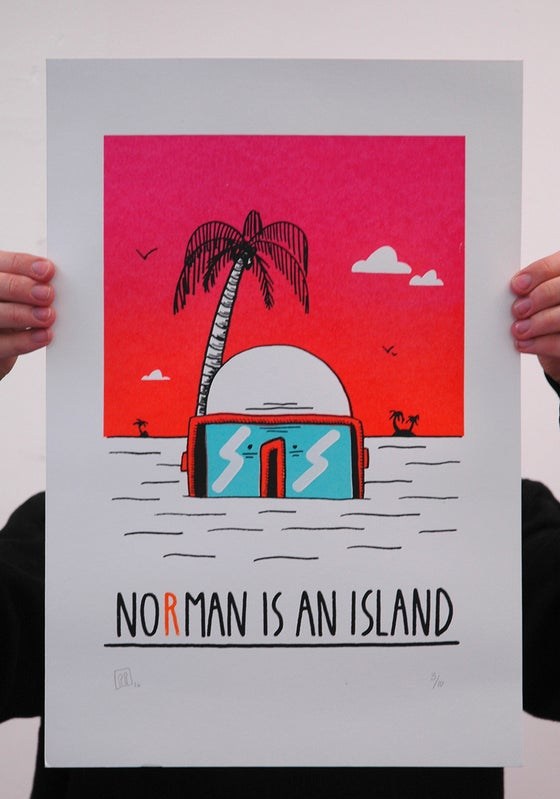 "Image of ""No man is an island"""