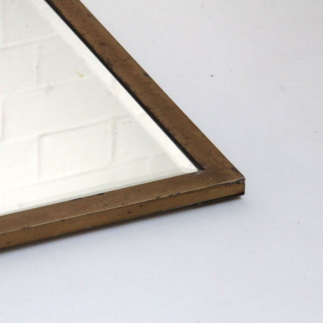 Image of Brass Floor-Standing Mirror