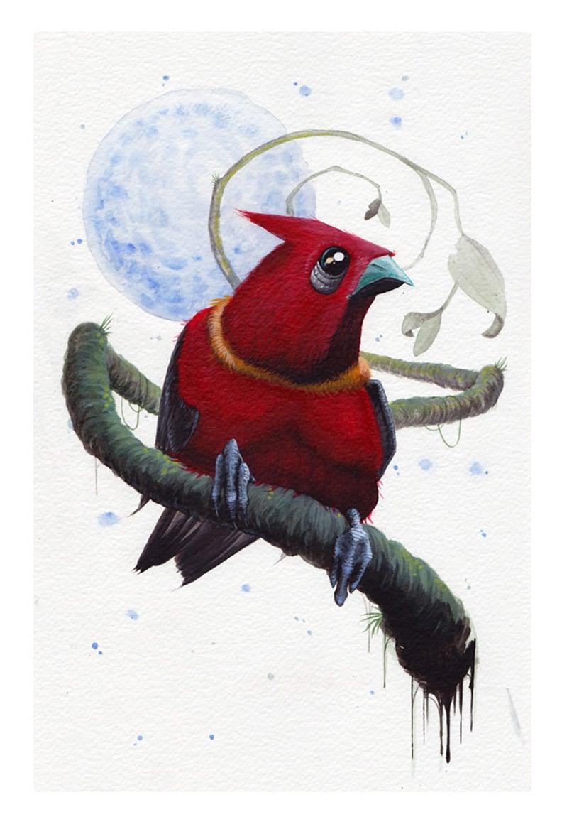 Image of Xmas bird