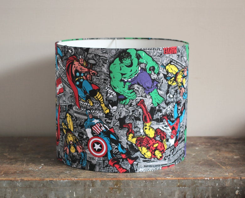 Image of Marvel Lampshade