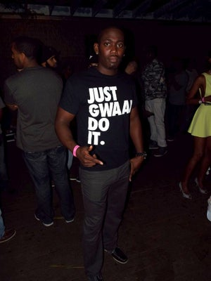 Image of JUST GWAAN DO IT T-SHIRT