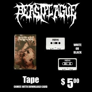 Image of BEASTPLAGUE - SELF TITLED TAPE