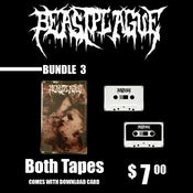 Image of BEASTPLAGUE - SELF TITLED TAPE - BOTH COLORS