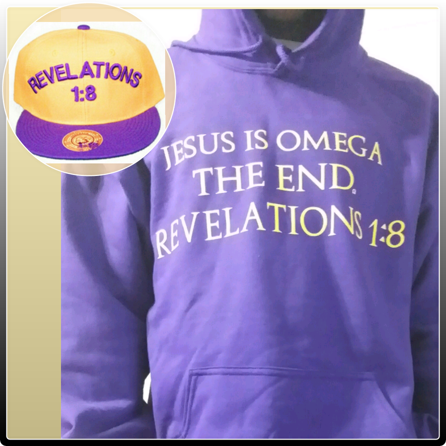 Image of JESUS IS OMEGA HOODIE