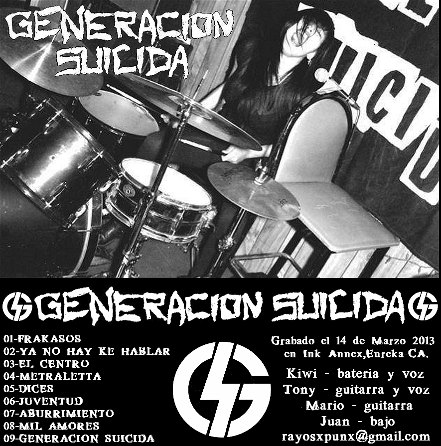 Image of GENERACION SUICIDA - en vivo ink annex 2013 tape