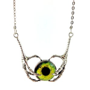 Image of Claw Pendant Necklace - More inside to choose from Sil