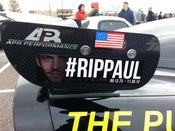 Image of RIP Paul Walker Stickers