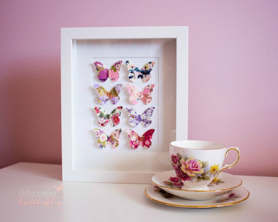 Image of Suri Purple Japanese Paper Butterfly Wings
