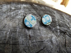 Image of Atomic Earrings Post