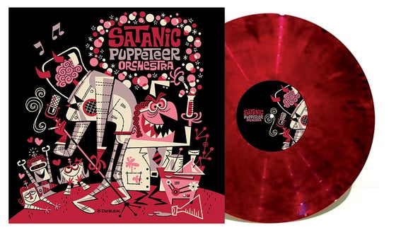 """Image of Experiments with Auto-Croon - Red/Black 12"""" Vinyl+MP3"""