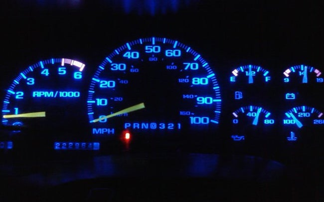 Image of BLUE LED Instrument Cluster Bulb Replacement Kit [FREE SHIPPING IN AUS]