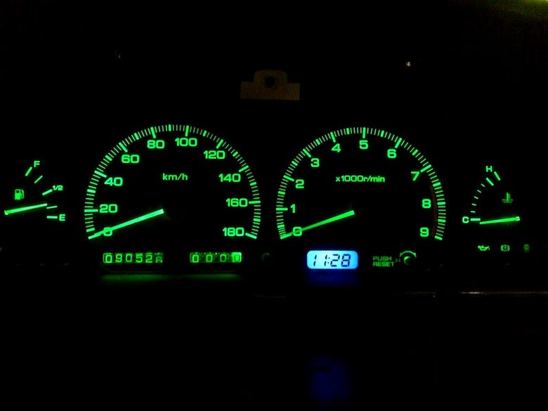 Image of GREEN LED Instrument Cluster Bulb Replacement Kit [FREE SHIPPING IN AUS]