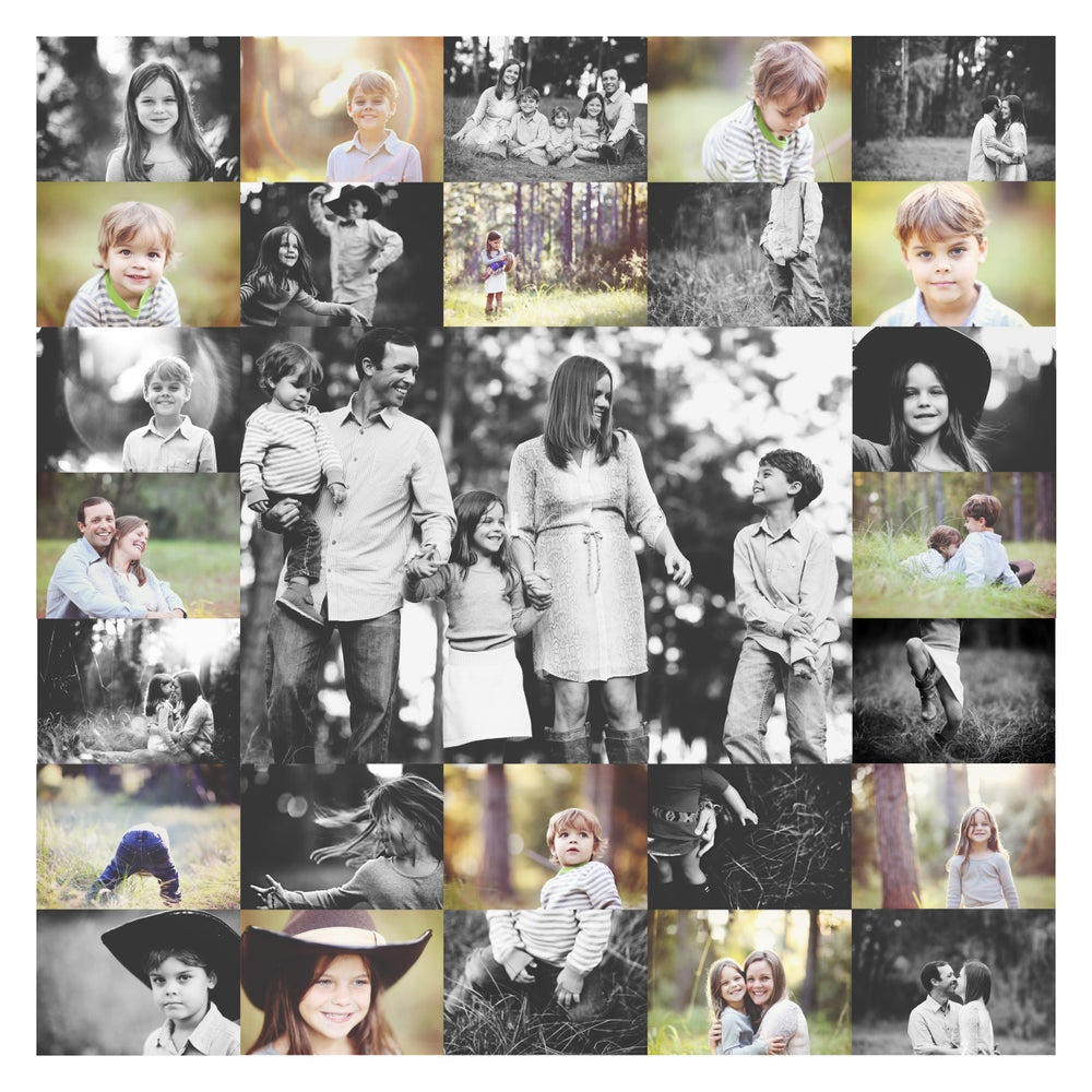 Image of art collage   30x30
