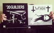 Image of ***SOLD OUT***20 GUILDERS / WE HAVE HEAVEN split LP vinyl