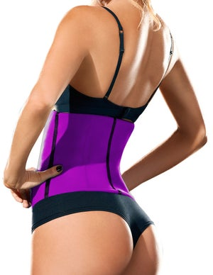 Image of WAIST TRAINING CORSET FOR WORKOUT (PINK)
