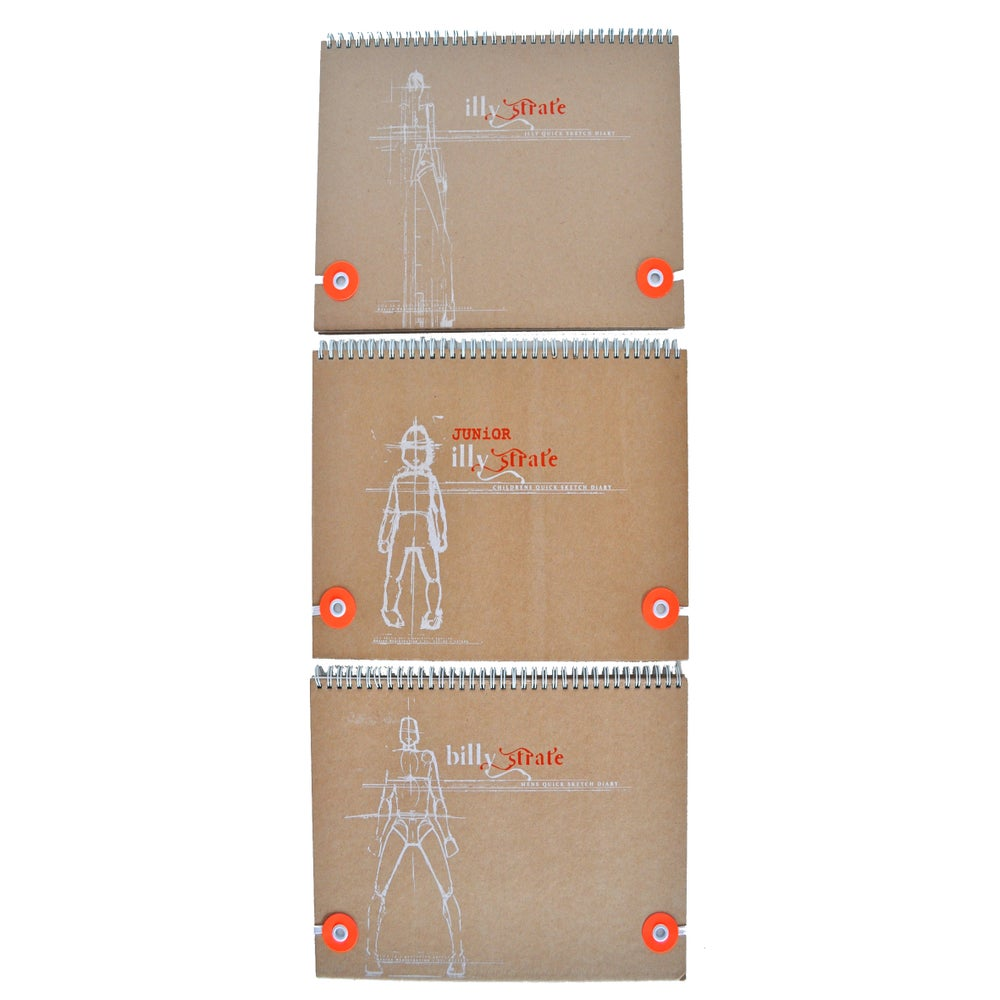 Image of ILLY STRATE QUICKSKETCH DIARY COLLECTION