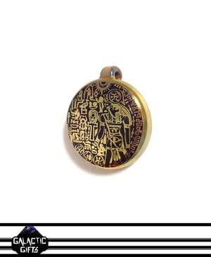 Image of Masataka Joei Egyptian God Horus Sacred Gold Medallion