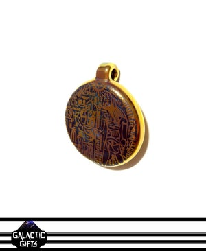 Image of Masataka Joei Egyptian God Anubis Sacred Gold Medallion