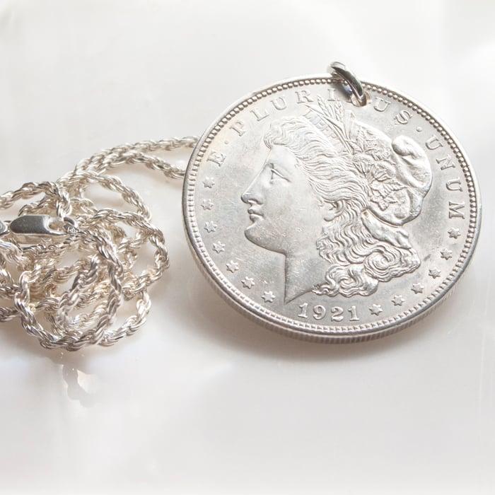 Image of Morgan Dollar Pendant